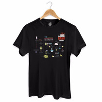 Camiseta Masculina The Big Bang Theory Friendship Algorithm