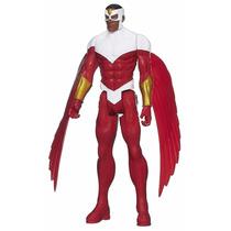 Boneco Marvel Titan Hero Series Falcon 30 Cm Original Hasbro