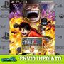 One Piece Pirate Warriors 3 Ps3 Midia Digital Envio Rapido!