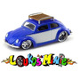 Jada ´59 Vw Beetle Fusca Dub City Oldskool 2005 Wave 1 1:64