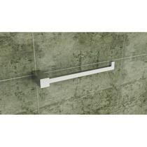 Kit Conjunto Banheiro Metais Quadrado Inox Modelo Ilhéus