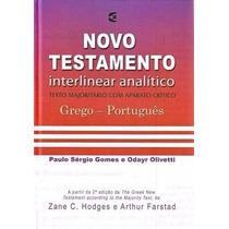 Novo Testamento Grego - Português Interlinear Analítico