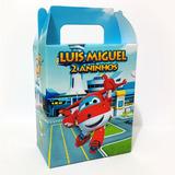 Caixinha Surpresa Personalizada - Super Wings