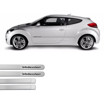 Jgo Friso Lateral Na Cor Do Carro Veloster 2011 A 2013