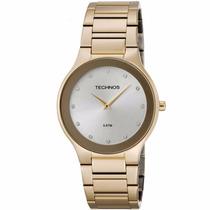Relógio Technos Classic Slim 1l22en/4k Aço Inox Dourado