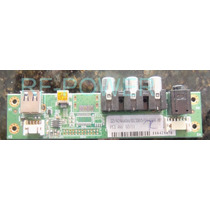 Placa Av/usb Lateral Tv Lcd Semp Lc4246fdakk Lc4246