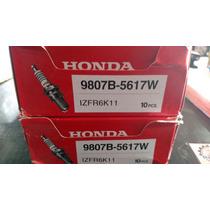 Jogo De Velas Honda Izfr6k11 / 9807b-5617w New Civic/crv