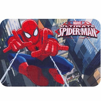 Tapete Jolitex 050 X 75cm Action Spider Man Homem Aranha