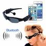 Óculos De Sol Mp3 Player Bluetooth 4gb Fone De Ouvido