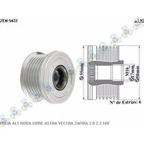 Polia Alternador Vectra Astra Meriva Zafira 2.0 2.2 16v