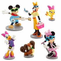 Disney Store Minnie Mouse Rock Star Figure Play Set