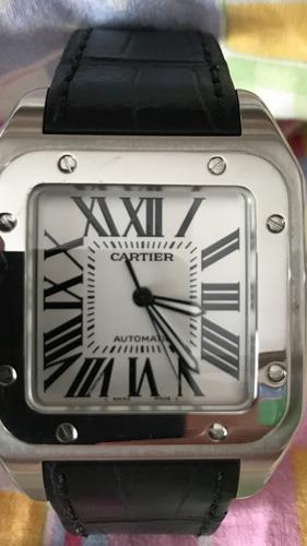 b0d321a8723 Relógio Cartier Santos 100 Xxl