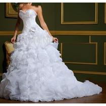 Vestido De Noiva Princesa 2x1 - 36/38 Envio Imediato