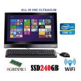 All In One Positivo I5 8gb Ssd 240gb 21,5 Com Garantia