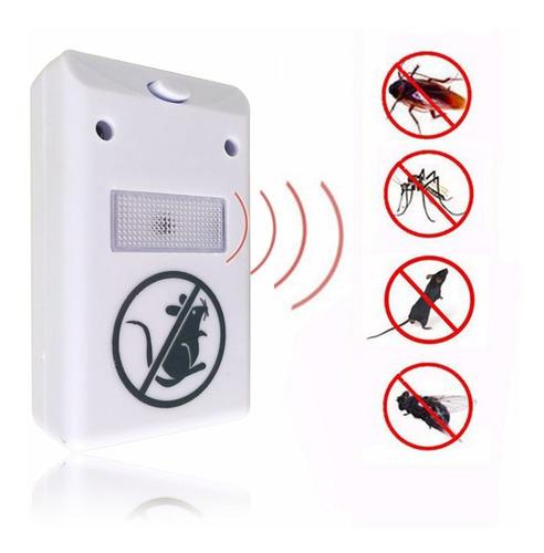 Repelente Ultrassônico Eletrônico  Baratas, Insetos E Ratos
