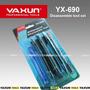 Kit Espátulas Yx-690 6x1 Para Desmontagem Celular Tablet