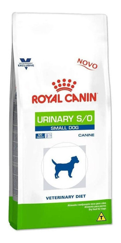 Ração Royal Canin Urinary S/o Veterinary Diet Canine Cachorro Raça Pequena 7.5kg