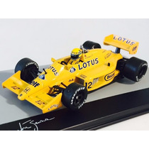 Miniatura F1 Lotus 99t Ayrton Senna Gp Mônaco 87 1 1:43 Ixo
