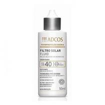 Filtro Solar Fps 40 Fluid 50ml Adcos
