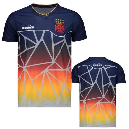60c1d2be2e Camisa Do Vasco Treino Diadora 2018 Tam Gg