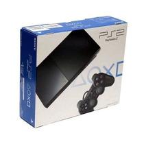 Playstation 2 Slim Completo +2 Controle+memory Car Novo#veja