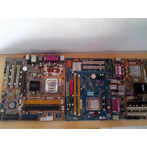 Lote De Placa Pc Desktop 3 Pecas Sucata