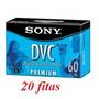 Fita Mini Dv Sony Dvm-60pr - 20 Unidades Original