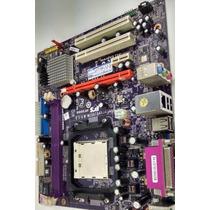 Placa Mãe Ecs Geforce 6100sm-m + Proces Athlon Ada3500iaa4cn