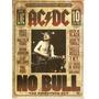 Acdc No Bull Versão Diretor  Dvd Lacrado Original