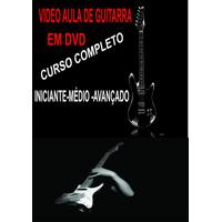 Video Aula Guitarra Em Dvd Frete Grátis