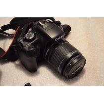 Camera Canon T3 Com Lente 18/55. Nova Com Todos Acessorios,
