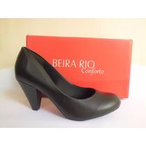 Scarpin Boneca Beira Rio Conforto - Clássico!!!