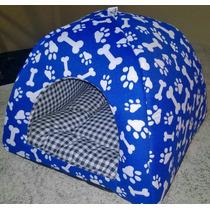 Cama Cachorro Gato Toca Iglu 35x35x29 (acompanha Almofada)