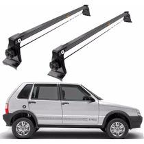 Rack De Teto Aço Fiat Uno 4 Portas 1993 Até 2013