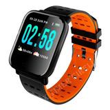 Relógio Inteligente A6 Pressão Arterial E Monitor Cardíaco