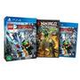 Jogo Lego Ninjago: O Filme Videogame - Edição Limitada - Ps4