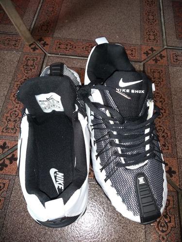2038a76f466 Nike Total Shox 12 Molas Prateado E Pret Original C Garantia à venda ...