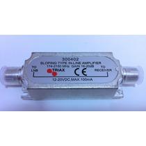 Amplificador De Linha Satélite Original Triax 20db
