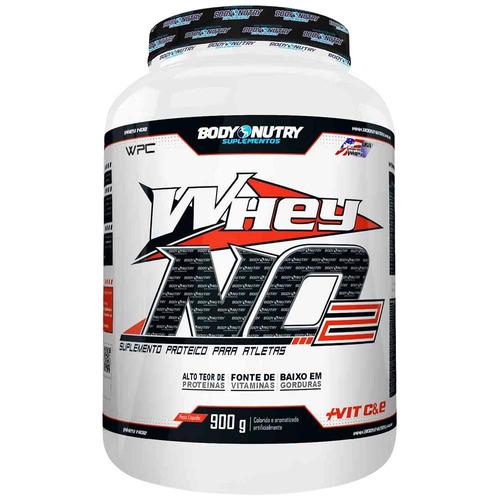 Whey No2 + Vitamina C - 900 G - Body Nutry - Baunilha