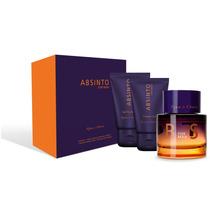 Perfume Absinto Man + Pós-barba + Shower Gel- Água De Cheiro