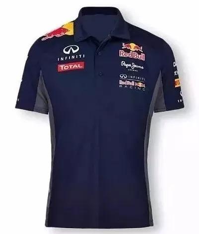 Camisa Camiseta Polo Formula 1 F1 Red Bull Corrida. R  120 a3f80b85371c4