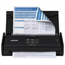 Scanner Compacto De Mesa Brother Ads1000w Usb Preto Wireles