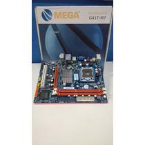 Placa Mãe Mega Motherboard G41t-m7 Ddr3