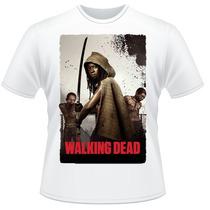 Camiseta The Walking Dead Amc Michonne Camisa
