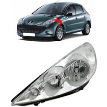 Farol Peugeot 207 Esquerdo Ano 2007 2008 2009 2010 2011 2012