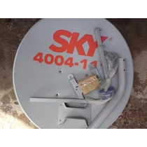 5 Antenas Completas (lnb+kit Fixaçâo + Kit Cabo Com 20 Mt )