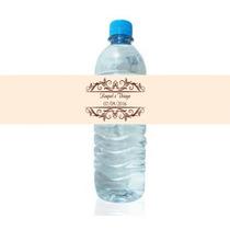 50 Rotulos Garrafinha Agua Mineral Personalize Seu Casamento
