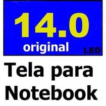 Tela 14 Led Lacrada B140xw01 Hsd140phw1 Ltn140at02 Bt140gw01