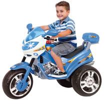 Moto Eletrica Magic Toys Bombeiro 12v - Azul