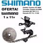 Kit Grupo Shimano Deore Xt M8000 Relação 1/1